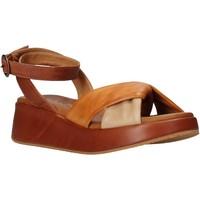 Schuhe Damen Sandalen / Sandaletten Sshady L2401 Braun