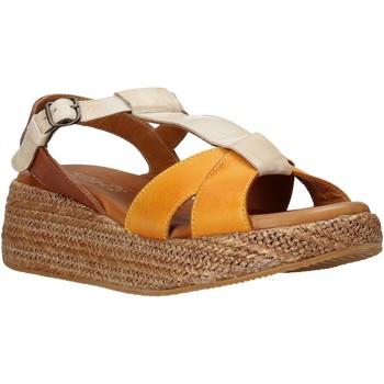 Schuhe Damen Sandalen / Sandaletten Sshady L2404 Braun