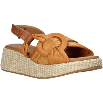 Schuhe Damen Sandalen / Sandaletten Sshady L2406 Braun