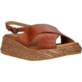Schuhe Damen Sandalen / Sandaletten Sshady L2410 Braun