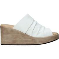 Schuhe Damen Pantoffel Sshady L2501 Weiß