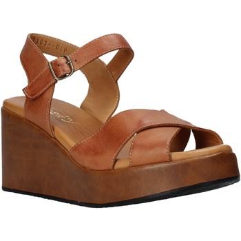 Schuhe Damen Sandalen / Sandaletten Sshady L2503 Braun
