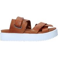 Schuhe Damen Pantoffel Sshady MRT343 Braun