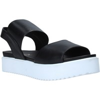 Schuhe Damen Sandalen / Sandaletten Sshady MRT80 Schwarz