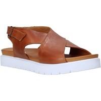Schuhe Damen Sandalen / Sandaletten Sshady L2301 Braun