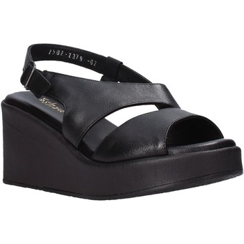 Schuhe Damen Sandalen / Sandaletten Sshady L2502 Schwarz