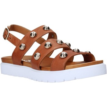 Schuhe Damen Sandalen / Sandaletten Sshady MRT126 Braun