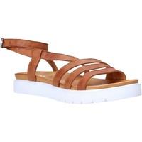 Schuhe Damen Sandalen / Sandaletten Sshady MRT339 Braun