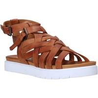 Schuhe Damen Sandalen / Sandaletten Sshady L2306 Braun