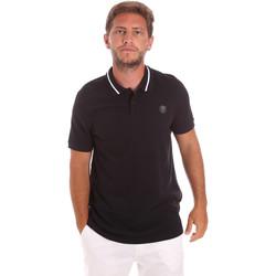 Kleidung Herren Polohemden Roberto Cavalli FST693 Schwarz
