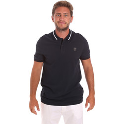 Kleidung Herren Polohemden Roberto Cavalli FST693 Blau