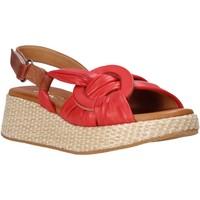 Schuhe Damen Sandalen / Sandaletten Sshady L2406 Rot