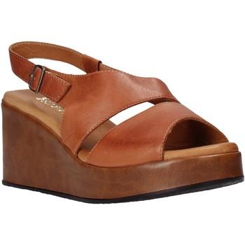 Schuhe Damen Sandalen / Sandaletten Sshady L2502 Braun