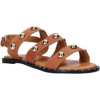 Schuhe Damen Sandalen / Sandaletten Sshady MRT2117 Braun
