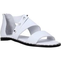 Schuhe Damen Sandalen / Sandaletten Sshady MRT2202 Weiß