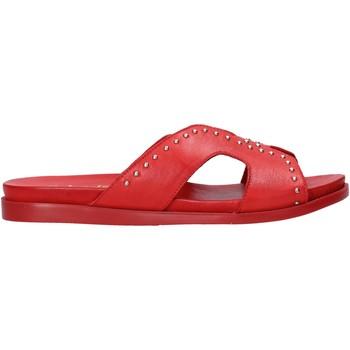 Schuhe Damen Pantoffel Sshady MRT233 Rot