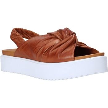 Schuhe Damen Sandalen / Sandaletten Sshady MRT77 Braun