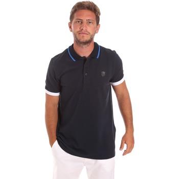 Kleidung Herren Polohemden Roberto Cavalli FST692 Blau