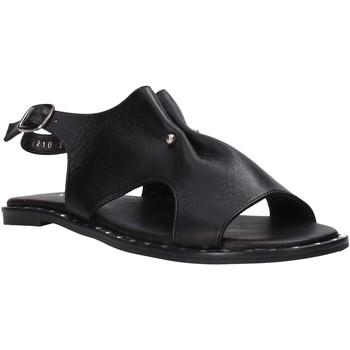 Schuhe Damen Sandalen / Sandaletten Sshady MRT2210 Schwarz