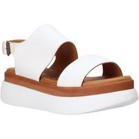 Schuhe Damen Sandalen / Sandaletten Sshady L2205 Weiß