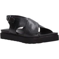 Schuhe Damen Sandalen / Sandaletten Sshady L2301 Schwarz