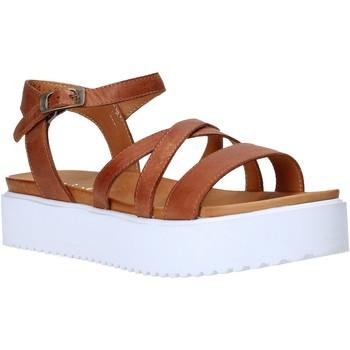 Schuhe Damen Sandalen / Sandaletten Sshady L2304 Braun