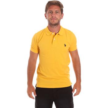 Kleidung Herren Polohemden U.S Polo Assn. 51007 49785 Gelb