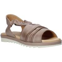 Schuhe Damen Sandalen / Sandaletten Sshady L1401 Grau