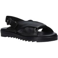 Schuhe Damen Sandalen / Sandaletten Sshady L1403 Schwarz