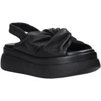 Schuhe Damen Sandalen / Sandaletten Sshady L2210 Schwarz