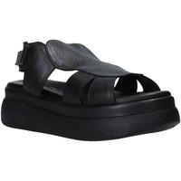 Schuhe Damen Sandalen / Sandaletten Sshady L2213 Schwarz