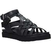 Schuhe Damen Sandalen / Sandaletten Sshady L2306 Schwarz