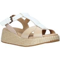 Schuhe Damen Sandalen / Sandaletten Sshady L2404 Beige
