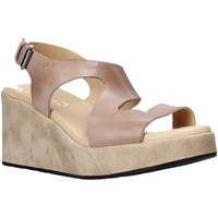 Schuhe Damen Sandalen / Sandaletten Sshady L2505 Braun