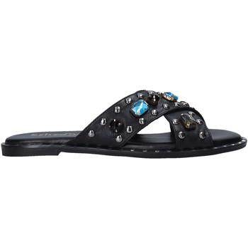 Schuhe Damen Pantoffel Sshady MRT510 Schwarz