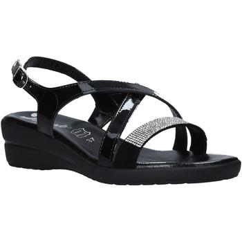 Schuhe Damen Sandalen / Sandaletten Susimoda 243640 Schwarz