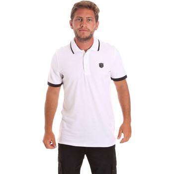 Kleidung Herren Polohemden Roberto Cavalli FST692 Weiß