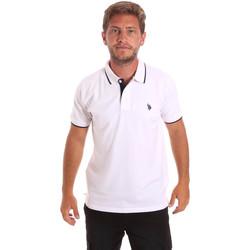 Kleidung Herren Polohemden U.S Polo Assn. 51139 49785 Weiß