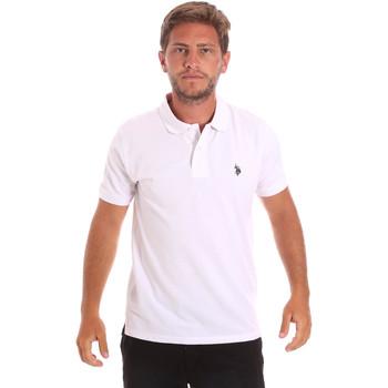Kleidung Herren Polohemden U.S Polo Assn. 51007 49785 Weiß