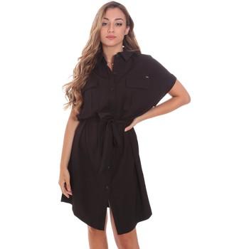 Kleidung Damen Kurze Kleider Gaudi 111FD15011 Schwarz