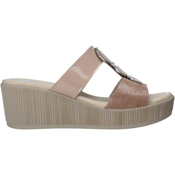 Schuhe Damen Pantoffel Susimoda 1913 Braun