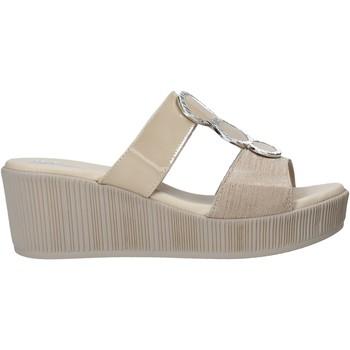 Schuhe Damen Pantoffel Susimoda 1913 Beige