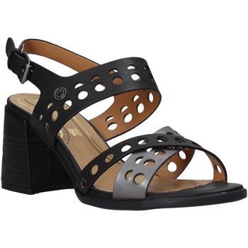 Schuhe Damen Sandalen / Sandaletten Wrangler WL01572A Schwarz