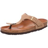 Schuhe Damen Zehensandalen Rohde Pantoletten 5642/14 braun