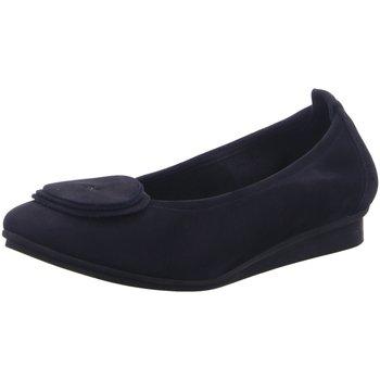 Schuhe Damen Ballerinas Arche Slipper Ninaro Ninaro Nubuck Nuit blau