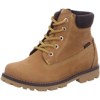 Schuhe Jungen Boots Vado Schnuerstiefel VADO_MID_SCHNUER_RV_VA-TEX 45201-MILAN/701 0 braun