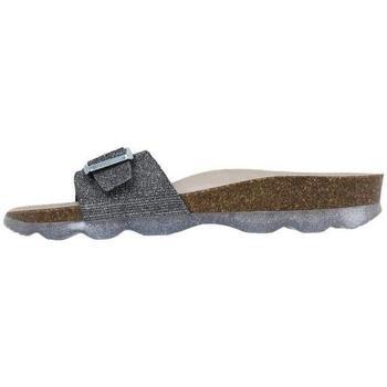 Schuhe Damen Pantoffel Senses & Shoes  Grau