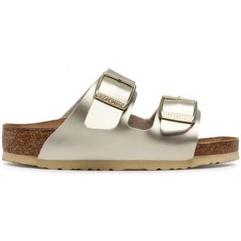 Schuhe Kinder Pantoffel Birkenstock Arizona Kids BF Golden