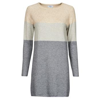 Kleidung Damen Kurze Kleider Betty London PIMPA Rose / Grau