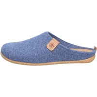 Schuhe Damen Hausschuhe Rohde Damen Hausschuhe blau